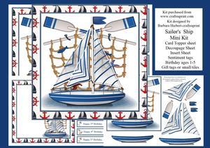 Sailor's Ship Mini Kit