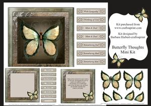 Butterfly Thoughts Mini Kit