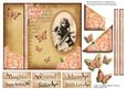 Photo Book Cover Card Topper with Pyramid Layer Decoupage