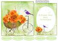 Rose Cart Quick & Easy Topper & Insert & Verse
