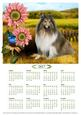 2017 Calendar Lassie in the Country