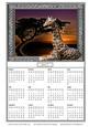 Peaceful Sunset 2017 Calendar