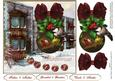 Holiday Town Topper with Decoupage