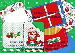 Babys 1st Christmas Pocket Kit