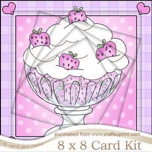 8 x 8 Sweet Treats Twisted Tunnel Card Kit