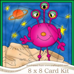 8 x 8 Aliens Twisted Tunnel Card Kit