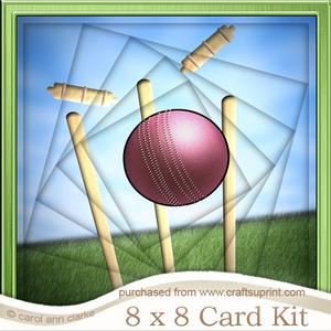 8 x 8 Rugby Twisted Tunnel Card Kit