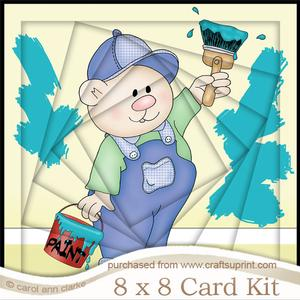 8 x 8 Men's DIY Twisted Tunnel Card Kit