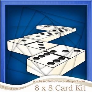 8 x 8 Dominoes Twisted Tunnel Card Kit
