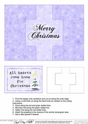 Christmas Message Swing Card