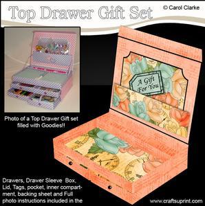 3D Time for Roses Top Drawer Gift Set Kit