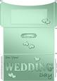 Elegant Wedding Money or Gift Wallet and Card