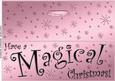 Large Dl Magical Christmas Quick Cut and Fold Card
