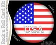 Usa Flag Rock N Roll Kit with Envelope and Insert