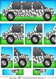 Dl Leopardskin Stretch Limousine with Side Stacker Topper