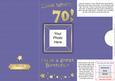 Add a Photo 70th Birthday Card with Easy Fold Frame
