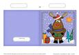 Xmas Rudolph Quick Cut and Fold Card