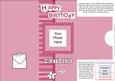 Add a Photo Birthday Mother with Easy Fold Frame