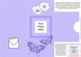 Add a Photo Fluttery Butterflies with Easy Fold Frame
