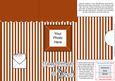 Add a Photo Birthday Stripes Card with Easy Fold Frame