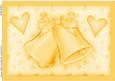 A4 Romantic Wedding Bells Pyramage Topper