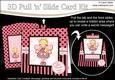 3D Fairy Fiz Pull N Slide Kit with 3D Decoupage