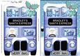 Xmas Santa Express Bradley A5 Quick Card N 3D Decoupage