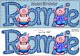 Birthday Large Dl Ronnie Quick Card N 3D Decoupage