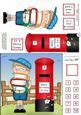 Boyz Schoolboy Zeke & Postbox Quick Card N 3D Decoupage