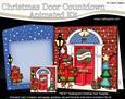 3D Robin's Present Door Countdown Animated Card