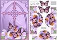 Fancy Cross Blooms & Butterfly Pyramid & Decoupage