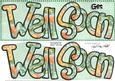 Large Dl Get Well Soon Roses Card & 3D Decoupage