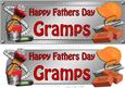 Large Dl Fathers Day Gramps Handyman Tools 3D Decoupage