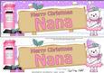 Christmas Nana Teddy Signpost Lge Dl Easicut Decoupage