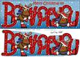 Xmas Both of You Rudolph Large Dl & 3D Decoupage