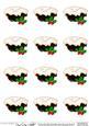 Xmas Mince Pies 3D Decoupage Sheet