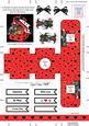 Scottie Dog's Rose 3D Valentine Treat Box Easifold Frame