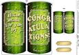 Congratulations Beer Can Shaped Card