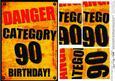 A5 Fun Novelty 90th Birthday Pyramage Topper