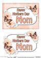 5x7 Mothers Day Mom Flowers & Butterflies 3D Decoupage