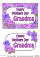 5x7 Mothers Day Grandma Time for Roses 3D Decoupage