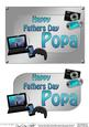 5x7 Fathers Day Popa Gadgets N Gizmos 3D Decoupage