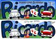 Large Dl 17th Birthday Ricardo Cars Quick Card 3D Decoupage