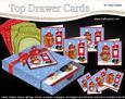3D Xmas Cute Little Robin Top Drawer Cards Bumper Kit