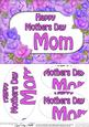 A5 Mothers Day Mom Time for Roses Oval Pyramage Topper