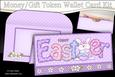 Easter Little Bunny Money or Gift Wallet Card Kit