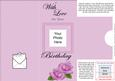 Add a Photo Birthday Roses with Easy Fold Frame