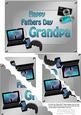 5x7 Gadgets N Gizmos Fathers Day Grandpa Scallop Corner Stac