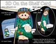 3D on the Shelf Card Kit - Little Christmas Nativity Joseph