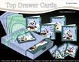 3D Christmas Little Hoot Owls Top Drawer Cards Bumper Kit